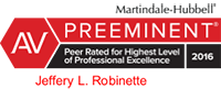 Lexis Nexis Martindale-Hubbell Peer Review Rated For Ethical Standards and Legal Ability